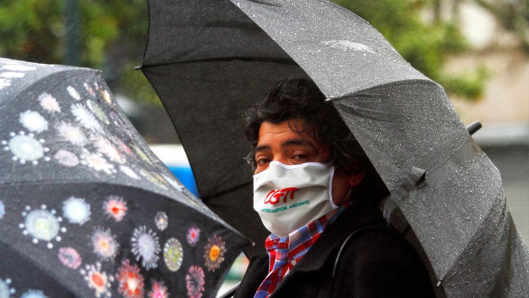 Manifestação da CGTP na Avenida dos Aliados, no Porto. Foto: Pedro Mesquita/RR