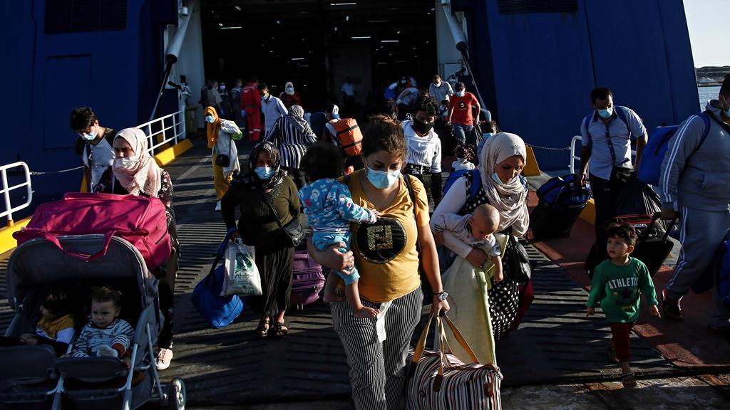 O Mediterrêneo continua a ser uma das principais portas de entrada na Europa. Foto: Yannis Kolesidis/EPA