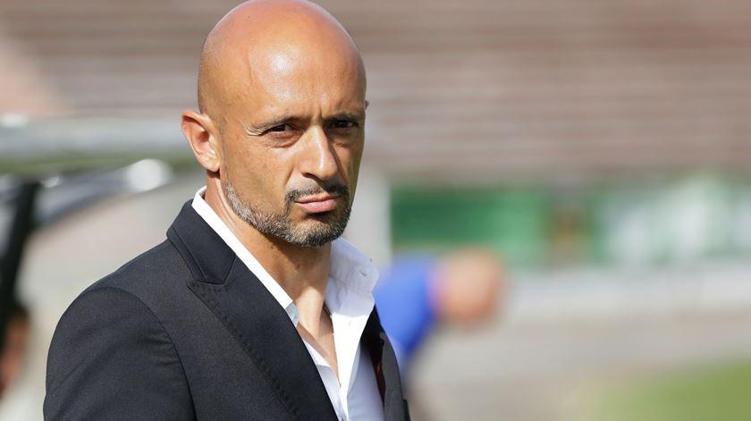 O treinador  tem um contrato válido por duas temporadas com o clube francês. Foto: Manuel Araújo/Lusa