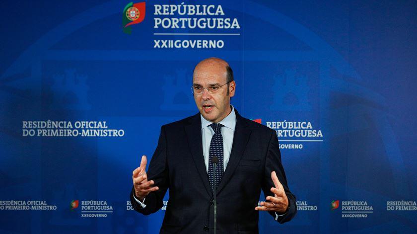 Ministro de Estado, da Economia e da Transição Digital, Pedro Siza Vieira. Foto: António Cotrim/Lusa