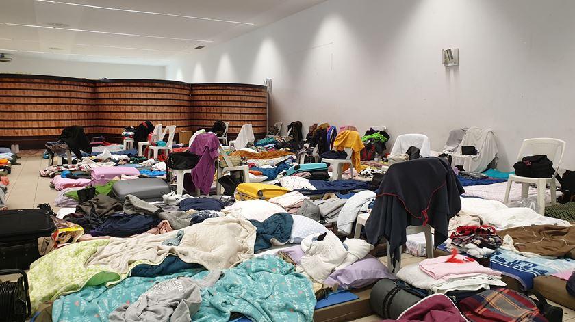 Durante uma semana os jovens universitários têm que enfrentar algumas dificuldades, privações e limites. Foto: Olímpia Mairos/RR