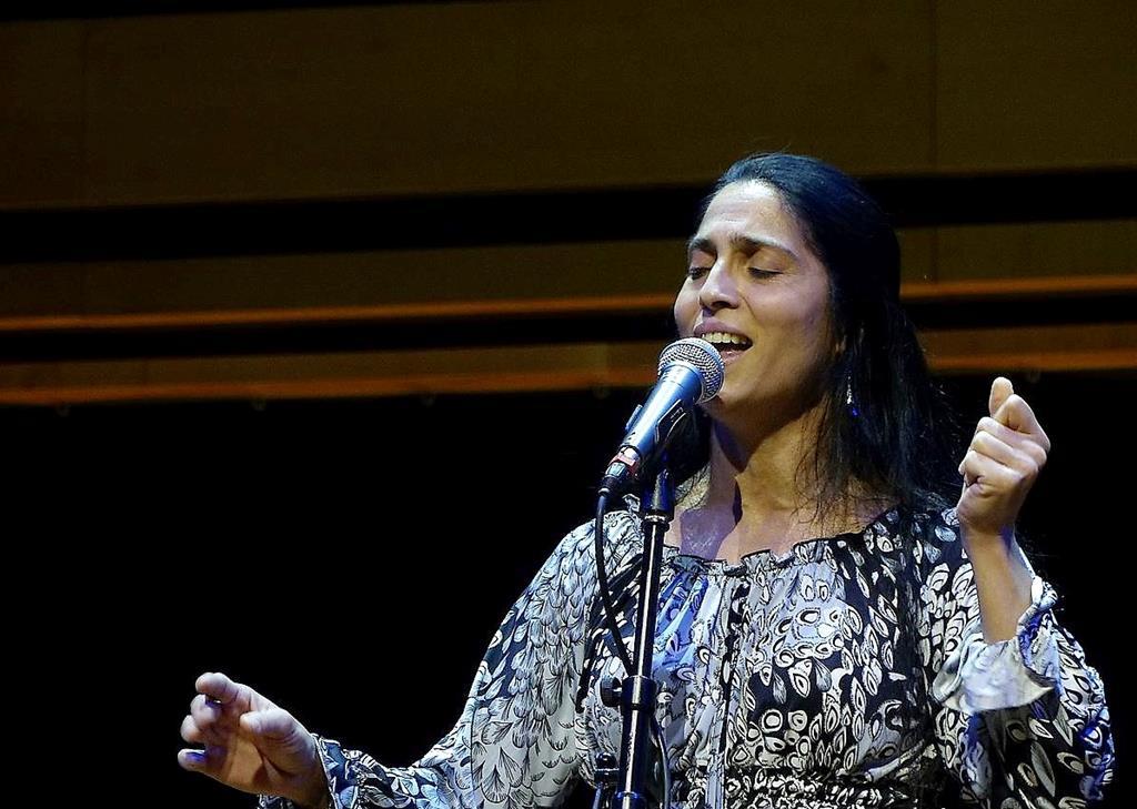 Cantora Mónika Lakatos. Foto:DR