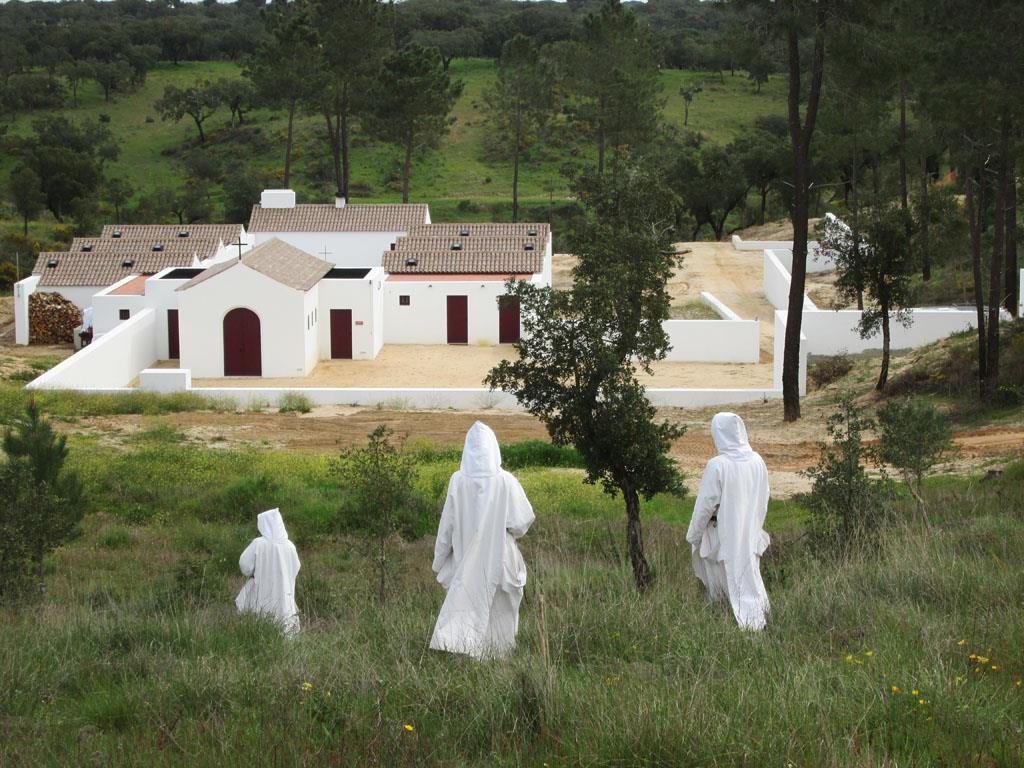 Monjas de Belém celebram no seu mosteiro perto do Couço 20 anos da sua chegada a Portugal Foto: Amigos das Monjas de Belém