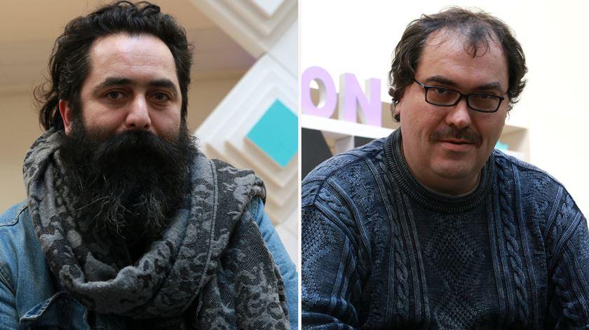 João Martins (à esquerda) e Pedro Belchior (à direita). Foto: Marília Freitas/RR