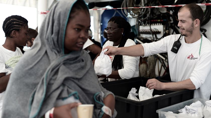 Foto: Kenny Karpov/SOS MEDITERRANEE