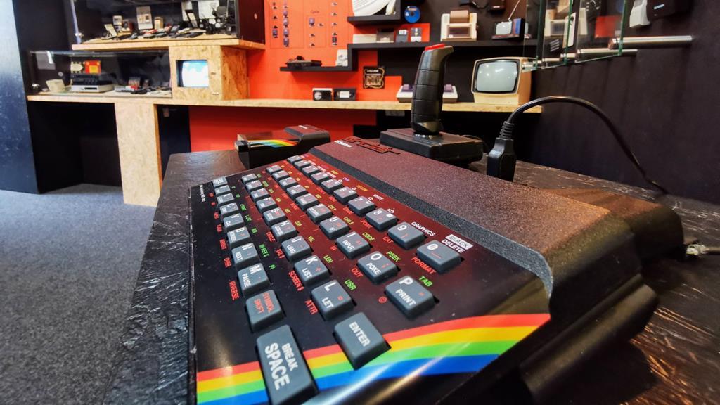 Museu do Spectrum em Cantanhede. Foto: Load ZX Spectrum