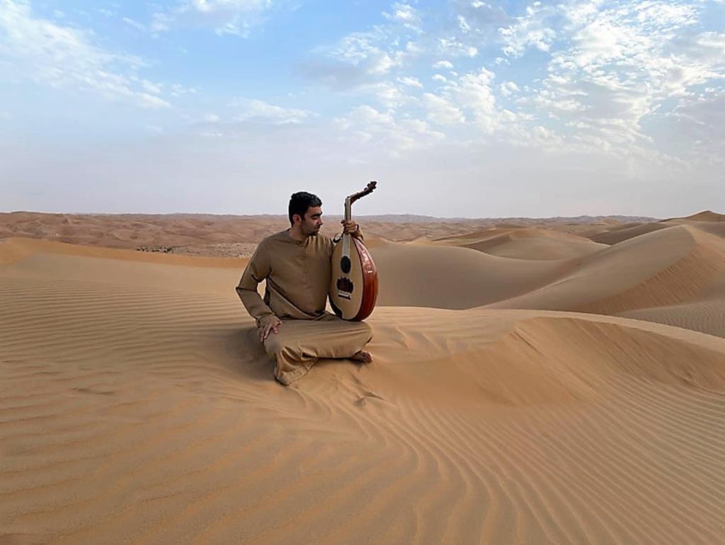 Músico egípcio Mustafa Said. Foto: DR
