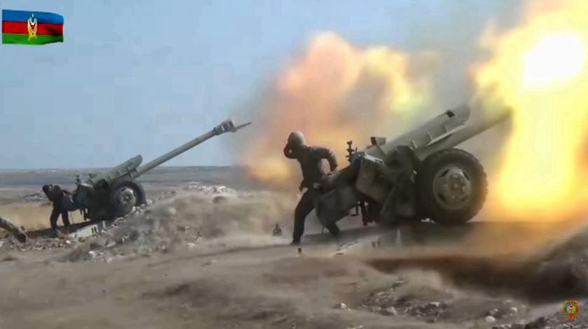 Foto: Ministério da Defesa do Azerbaijão