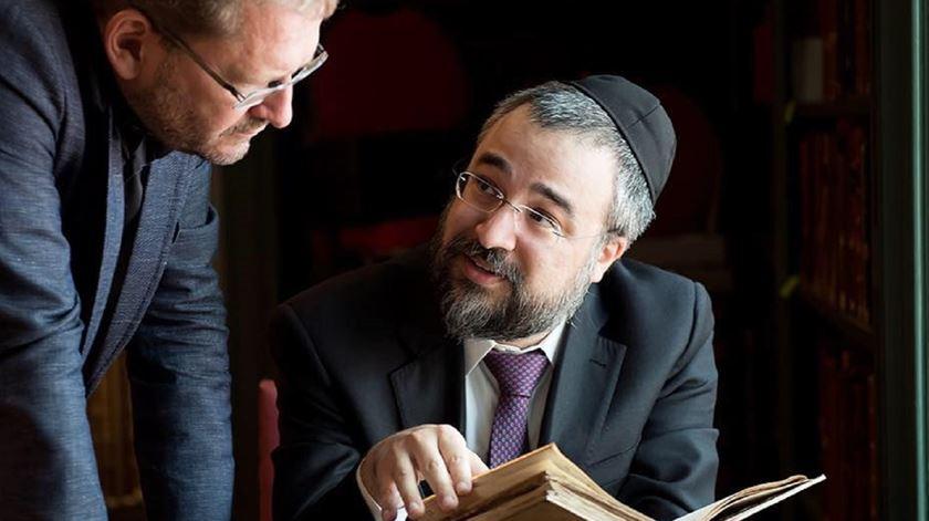 Natan Peres, novo rabino de Lisboa. Foto: Monique Kooijmans