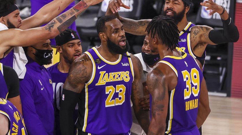 Lebron James, LA Lakers. Foto: Erik S. Lesser/EPA