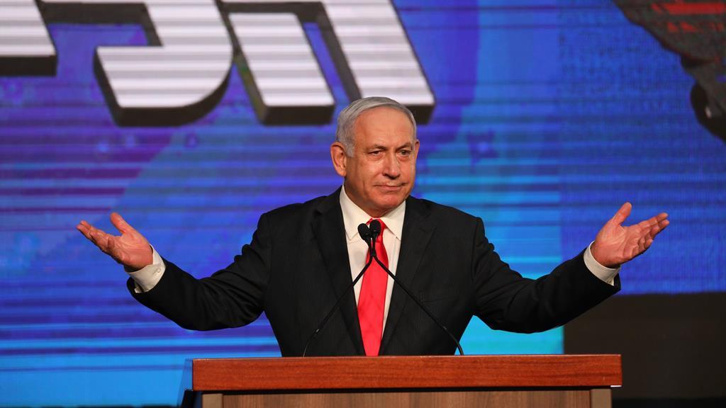 Benjamin Netanyahu. Foto: Abir Sultan/EPA