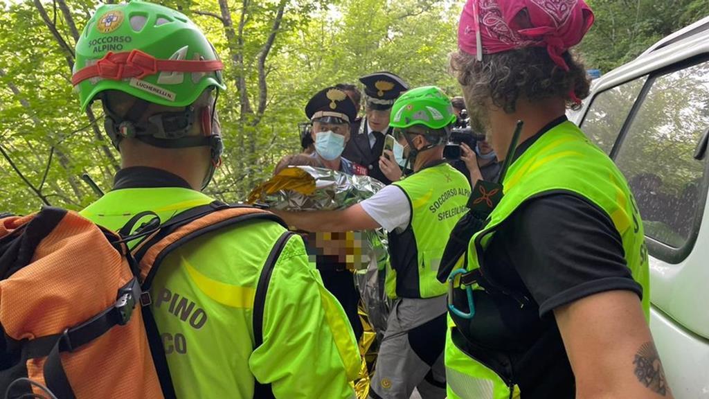 Nicola, menino italiano encontrado com vida depois de dois dias ao relento. Foto: Serviços de Busca italianos