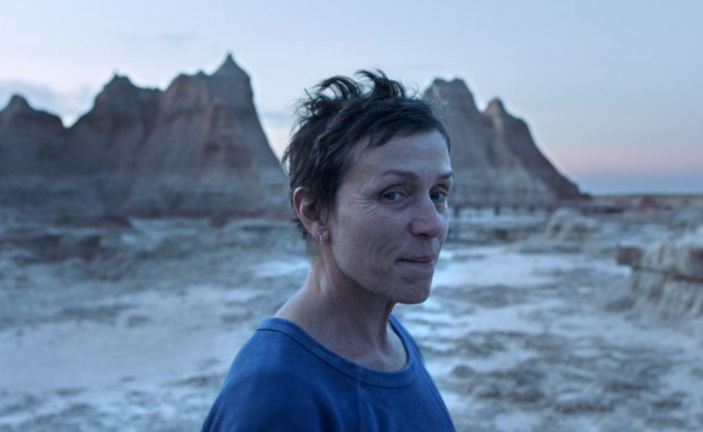 """Atriz Frances McDormand no filme """"Nomadland"""". Foto: DR"""