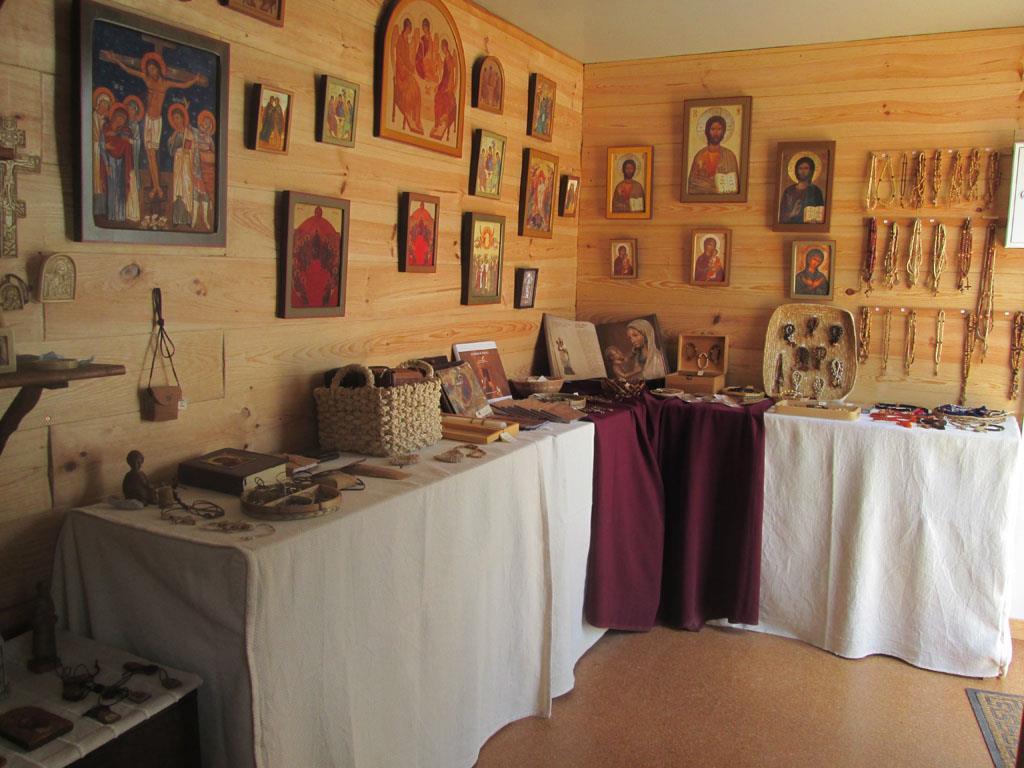 O mosteiro dispõe também de um espaço de exposição e venda de produtos e objetos associados ao quotidiano das irmãs Foto: Amigos das Monjas de Belém
