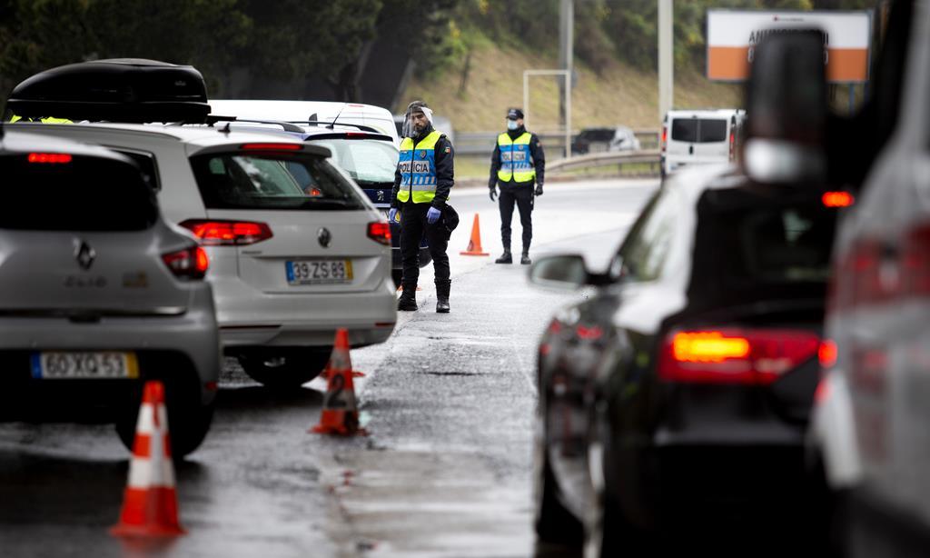 PSP promete estar atenta a todas as deslocações. Foto: Joana Bourgard/RR