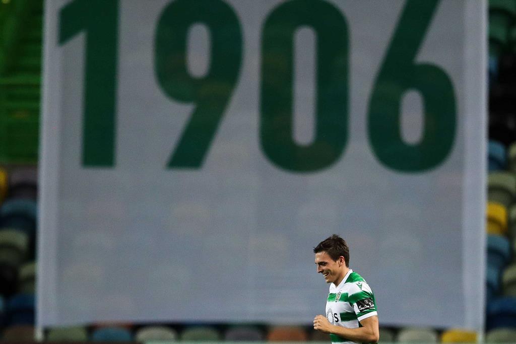 João Palhinha tem contrato até 2025 pelo Sporting Foto: Mário Cruz/Lusa