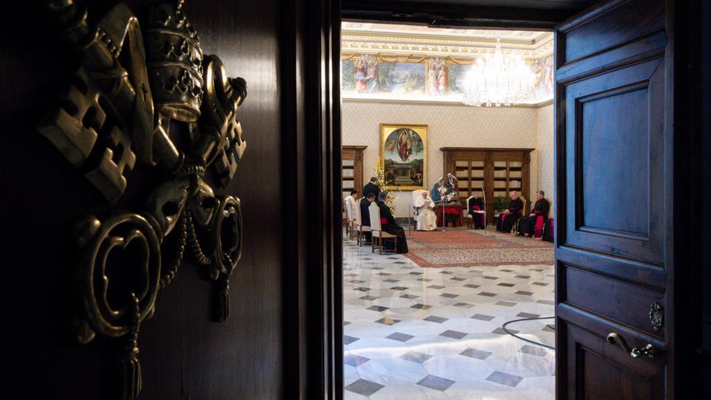 Francisco apenas conduzirá a recitação do Angelus. Foto: Vaticano/EPA