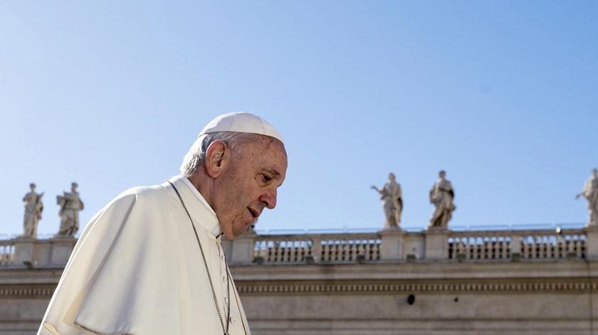 Declarações foram feitas em conversa com o padre francês Fernando Prado. Foto: Angelo Carconi/EPA