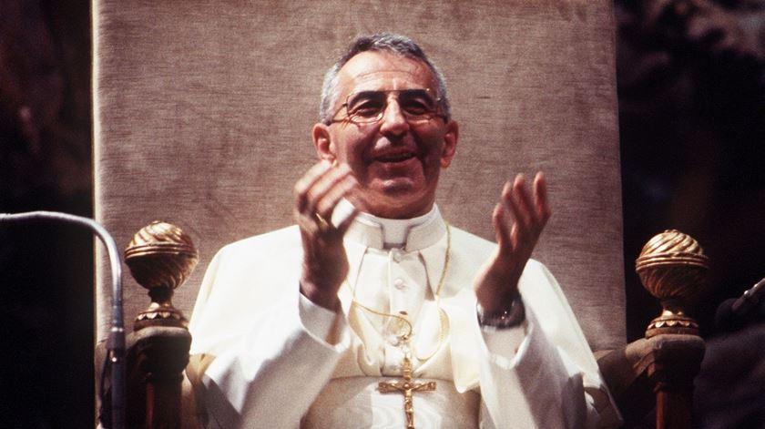 João Paulo I, o Papa do sorriso Albino Luciani. Foto: DR
