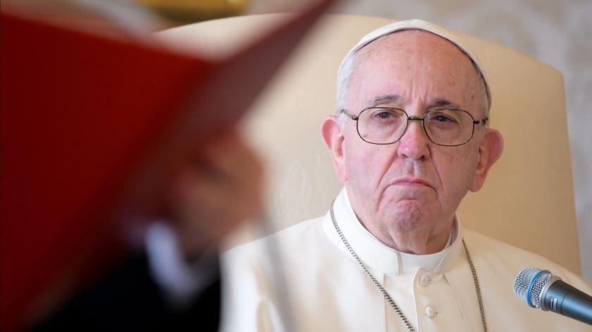 Papa Francisco discordou publicamente de várias decisões tomadas pela administração Trump nos últimos quatro anos. Foto: Vaticano