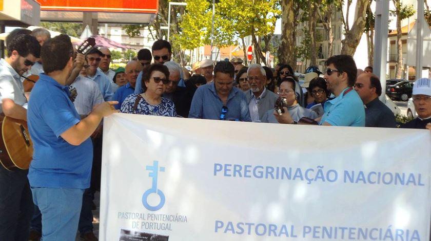 Peregrinação nacional da Pastoral Penitenciária. Foto: Facebook Pastoral Penitenciária de Portugal