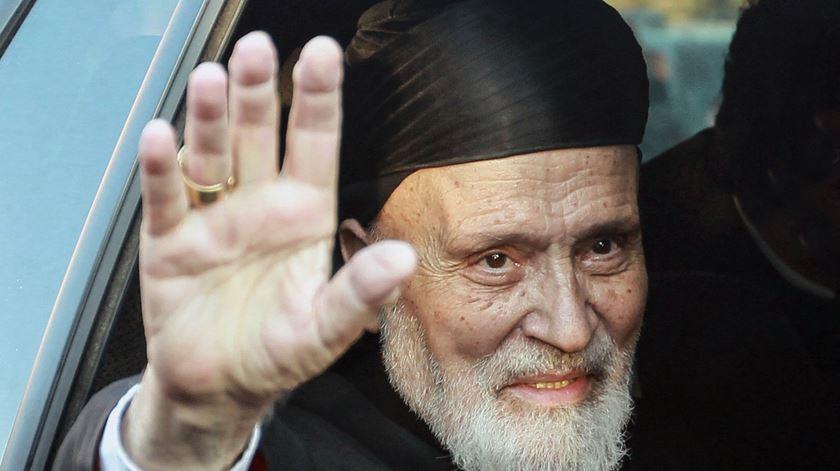 Patriarca Sfeir da Igreja Maronita, morreu em 2019. Foto: EPA
