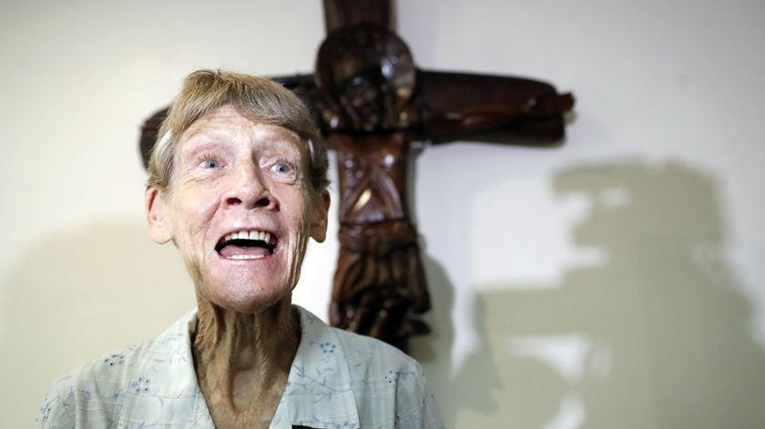 Patricia Fox freira australiana expulsa das Filipinas por Duterte. Foto: Francis R. Malasig/EPA