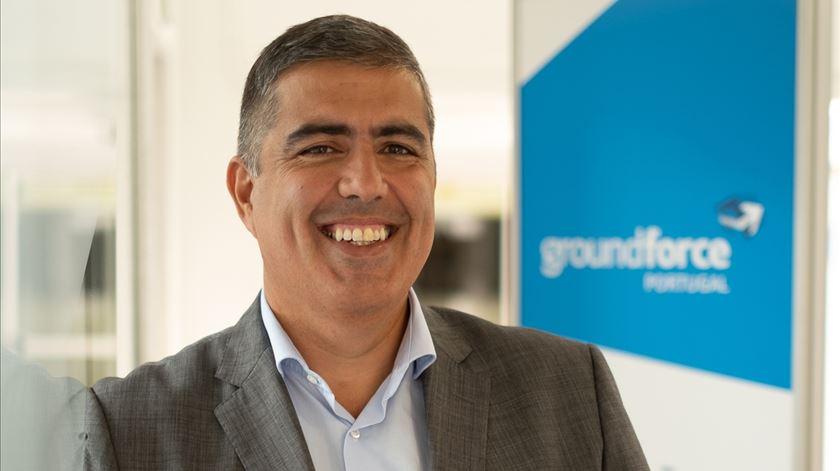 Paulo Neto Leite é o diretor-executivo da Groundforce Portugal. Foto DR
