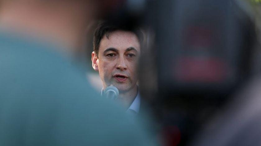 Paulo Rodrigues, presidente da Associação Sindical dos Profissionais da Polícia. Foto: Tiago Petinga/LUSA