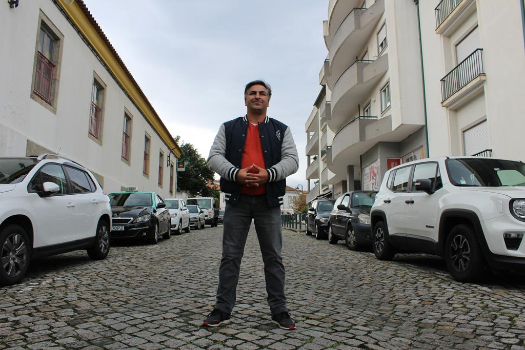 Pedro Monteiro é o cabeça de lista da única candidatura em Ribamondego. Foto: Liliana Carona/RR