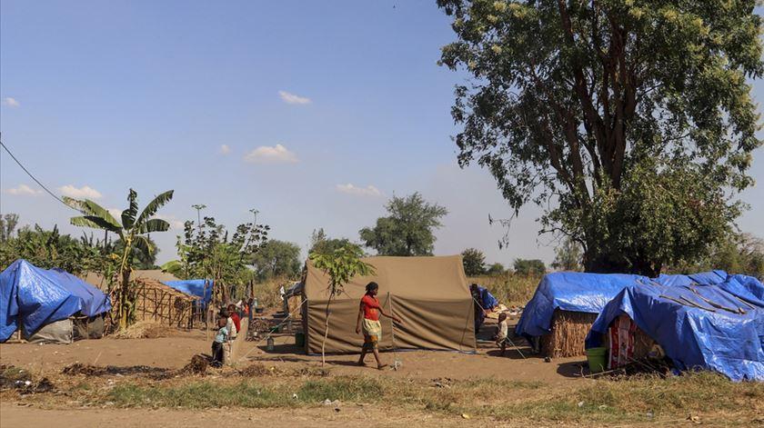 MSF alerta para o crescente risco de um surto de sarampo, diarreia ou Covid-19. Foto: MSF