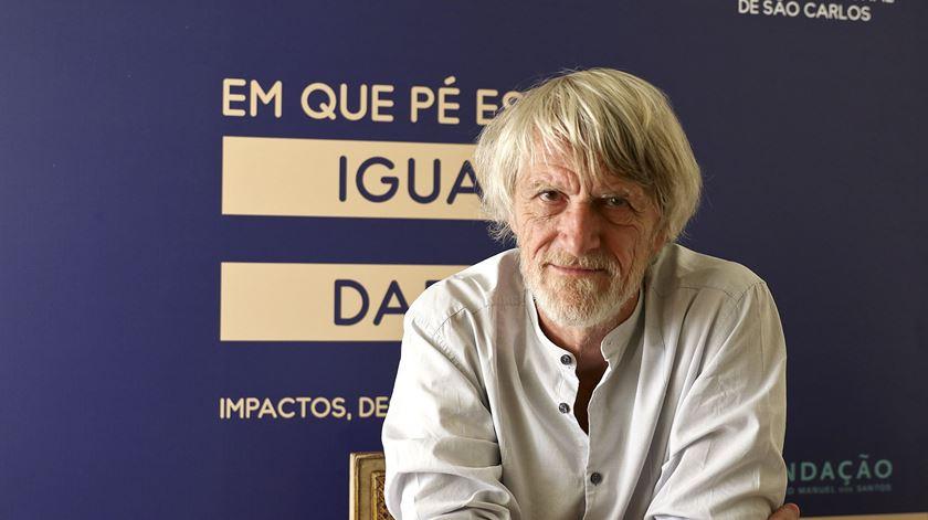 """Philippe Van Parijs foi um dos oradores convidados na conferência """"Em que pé está a igualdade?"""". Foto: Margarida Alpuim/RR"""