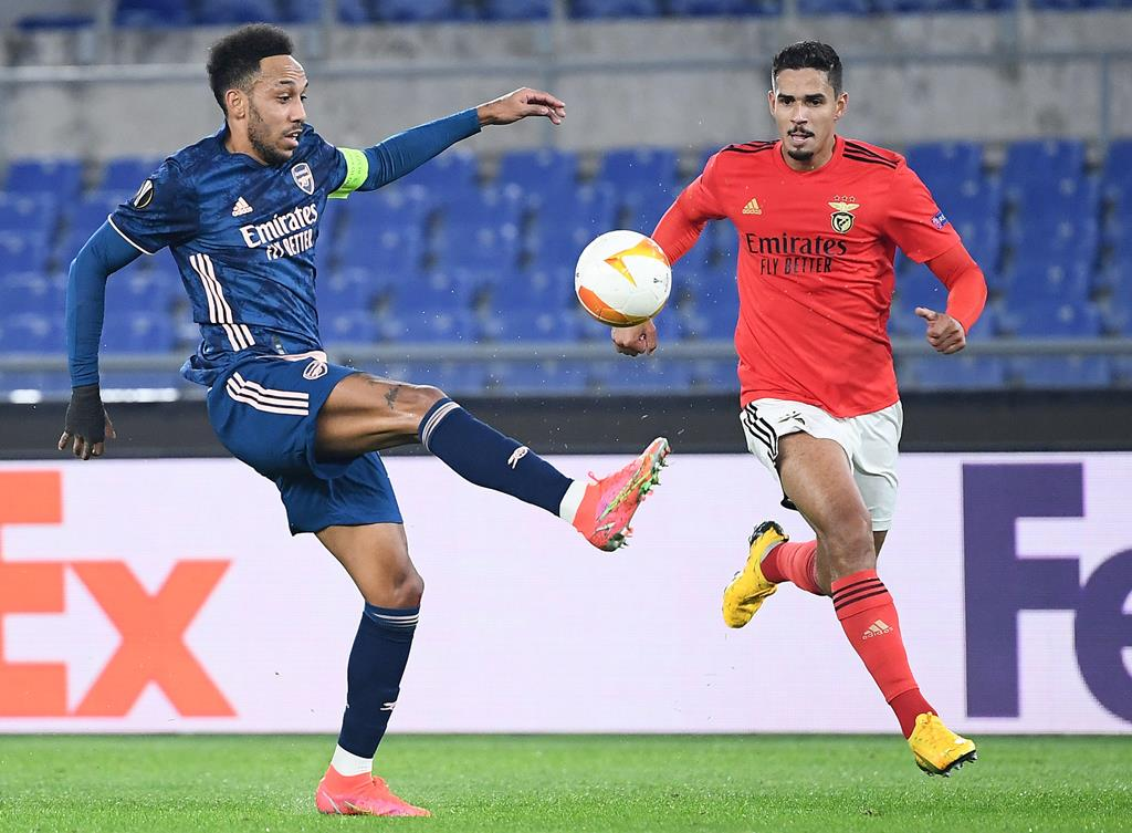 Lucas Veríssimo chegou em janeiro ao Benfica e tem sido utilizado por Jorge Jesus Foto: Ettore Ferrari/EPA