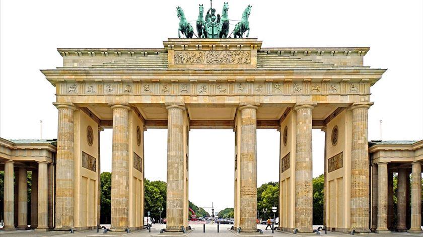 Portas de Brandenburgo hoje. Foto: Flickr