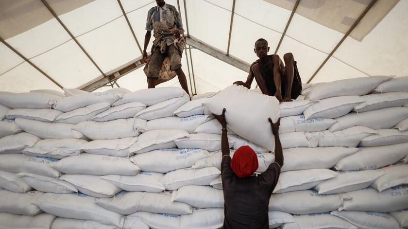 O Programa Alimentar Mundial está em 88 países. Foto: Dai Kurokawa/EPA