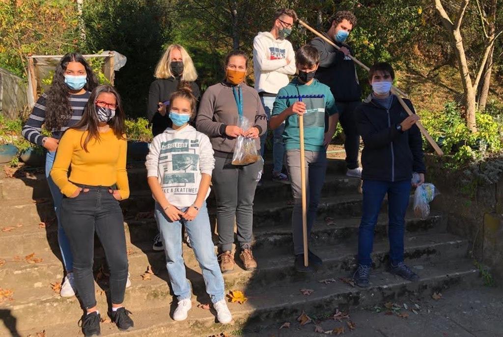 A equipa de estudantes por detrás do projeto. Foto: Liliana Carona/RR