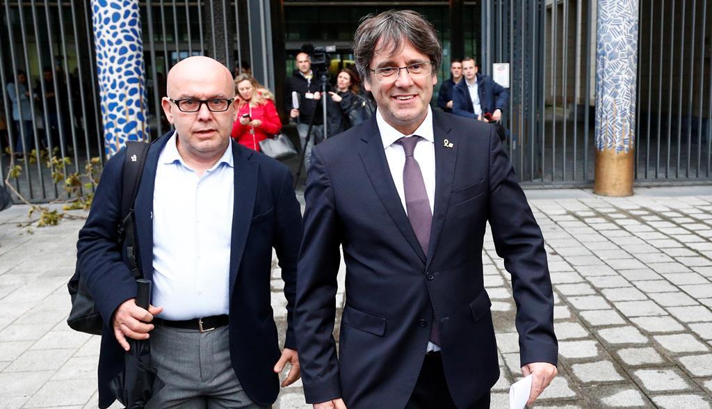 Carles Puigdemont Foto: Reuters