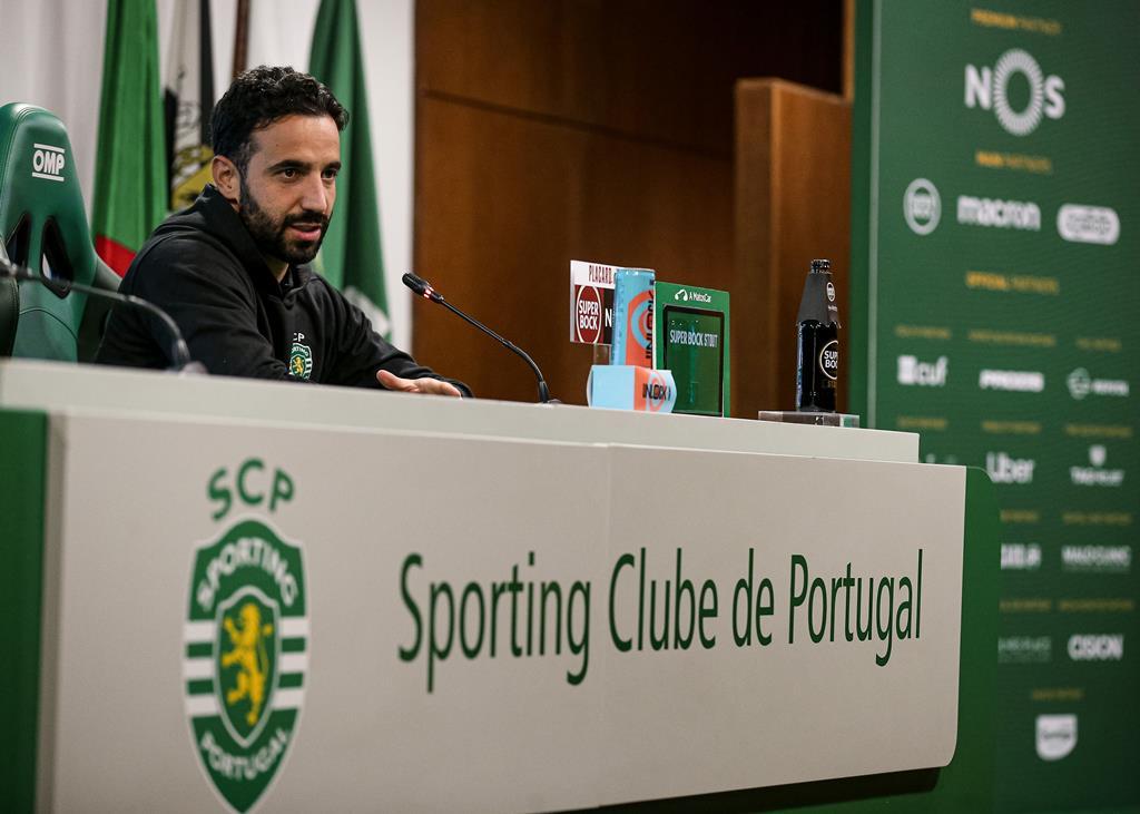 Rúben Amorim diz que não quer ser prejudicado pelas próprias palavras. Foto: Sporting CP