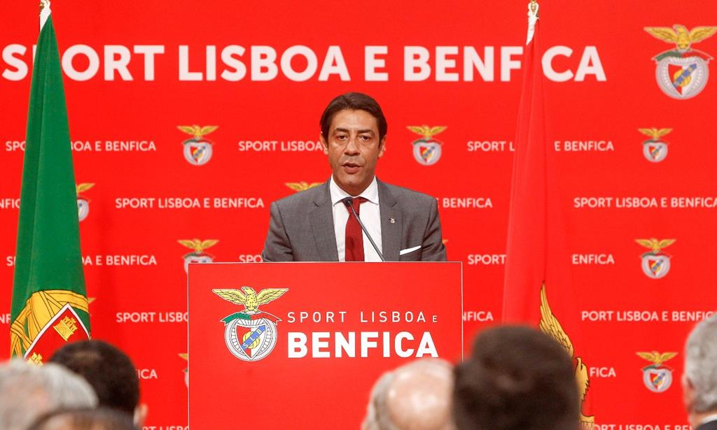 Rui Costa, presidente Benfica. Foto: SLB