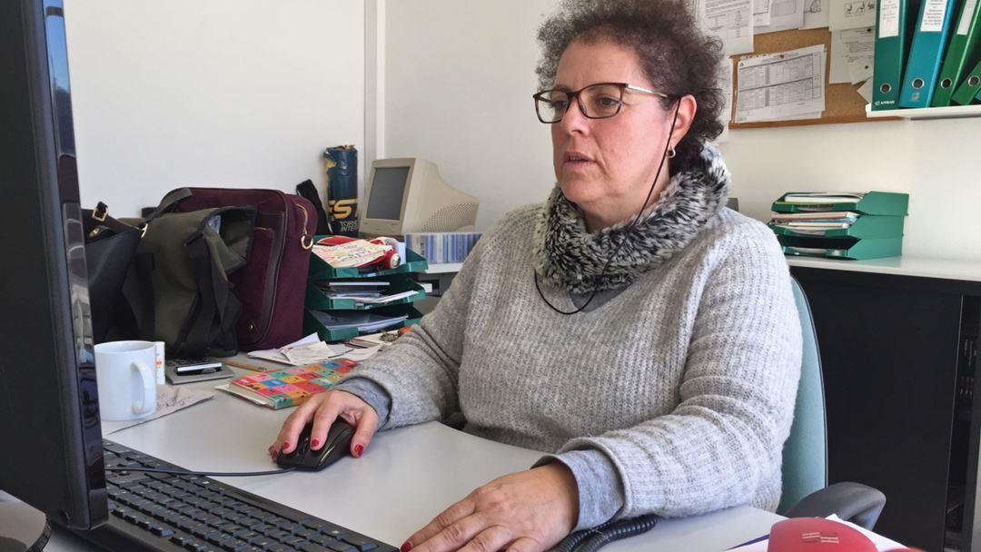 A coordenadora da Operação de Emprego para Pessoas com Deficiência, Sara Pestana. Foto: Sandra Afonso/RR