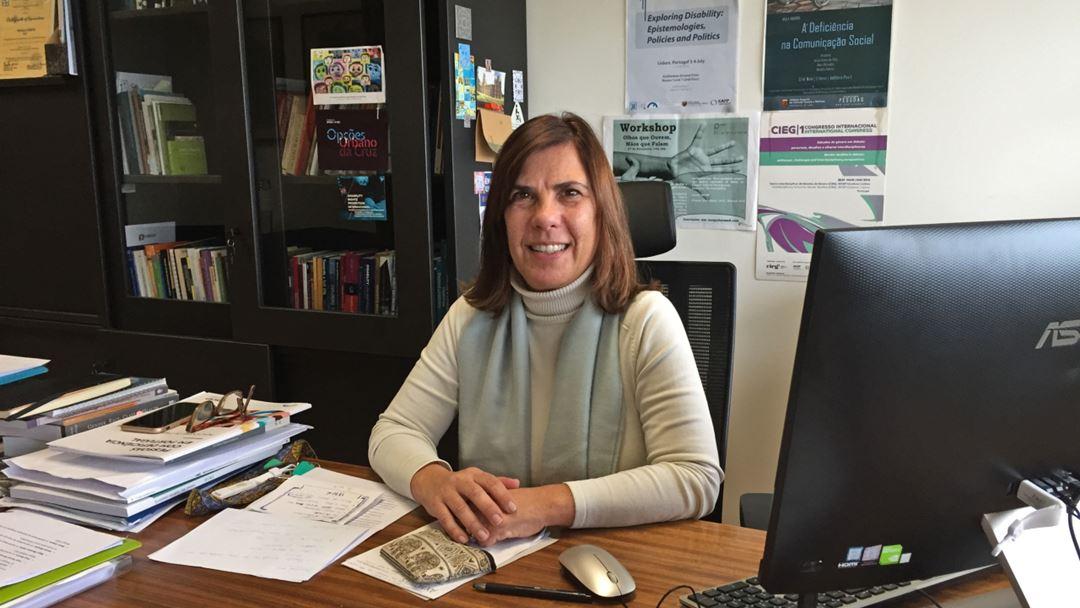 A coordenadora do Observatório da Deficiência e Direitos Humanos, Paula Campos Pinto. Foto: Sandra Afonso/RR