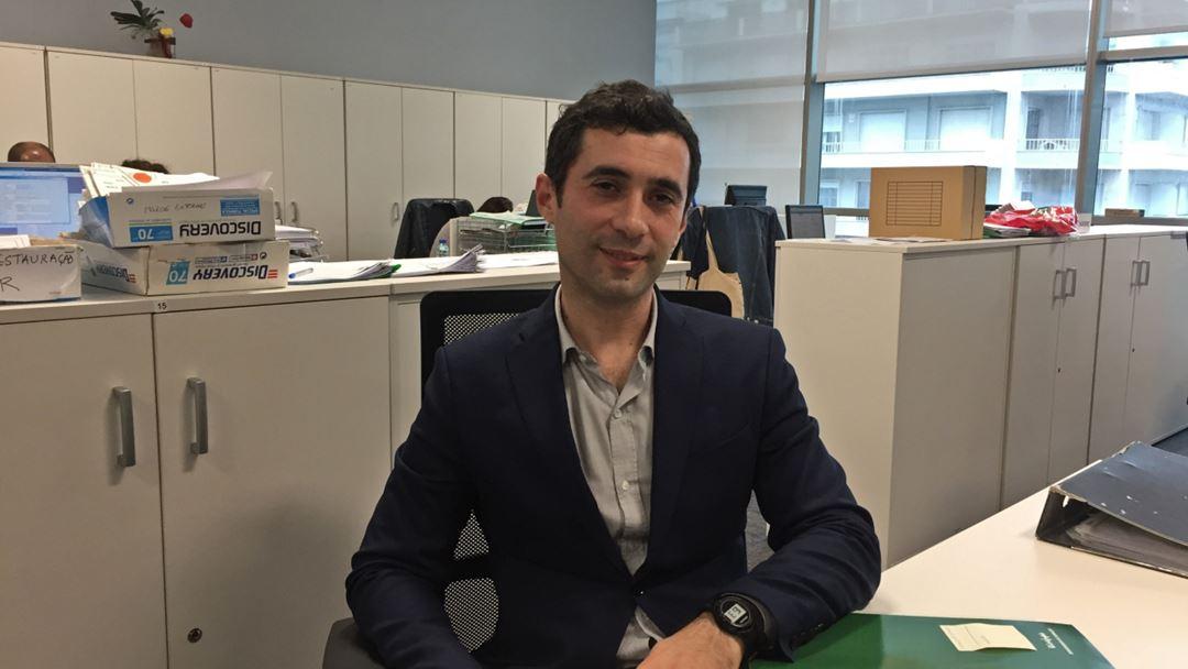 Miguel Ribeiro, dos Recursos Humanos do El Corte Inglês. Foto: Sandra Afonso/RR