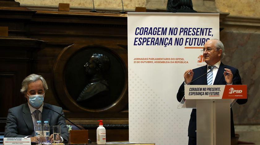 Desde que Rui Rio assumiu a liderança do PSD, partido chumbou sempre propostas de OE dos Governos de Costa. Foto: Manuel de Almeida/Lusa