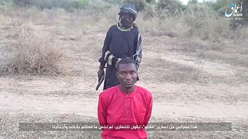 Ropvil Daciya Dalep, assassinado pelo Estado Islâmico na Nigeria. Foto: DR