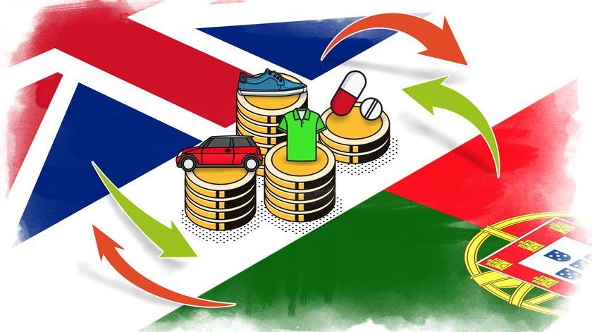 As exportações portuguesas para o Reino Unido valem mais de seis mil milhões de euros. Imagem: Rodrigo Machado/RR