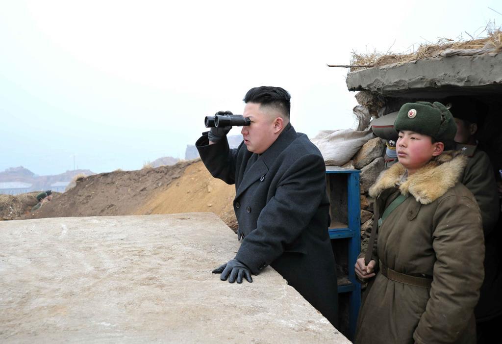 Kim Jong Un, líder da Coreia do Norte. Foto: DR