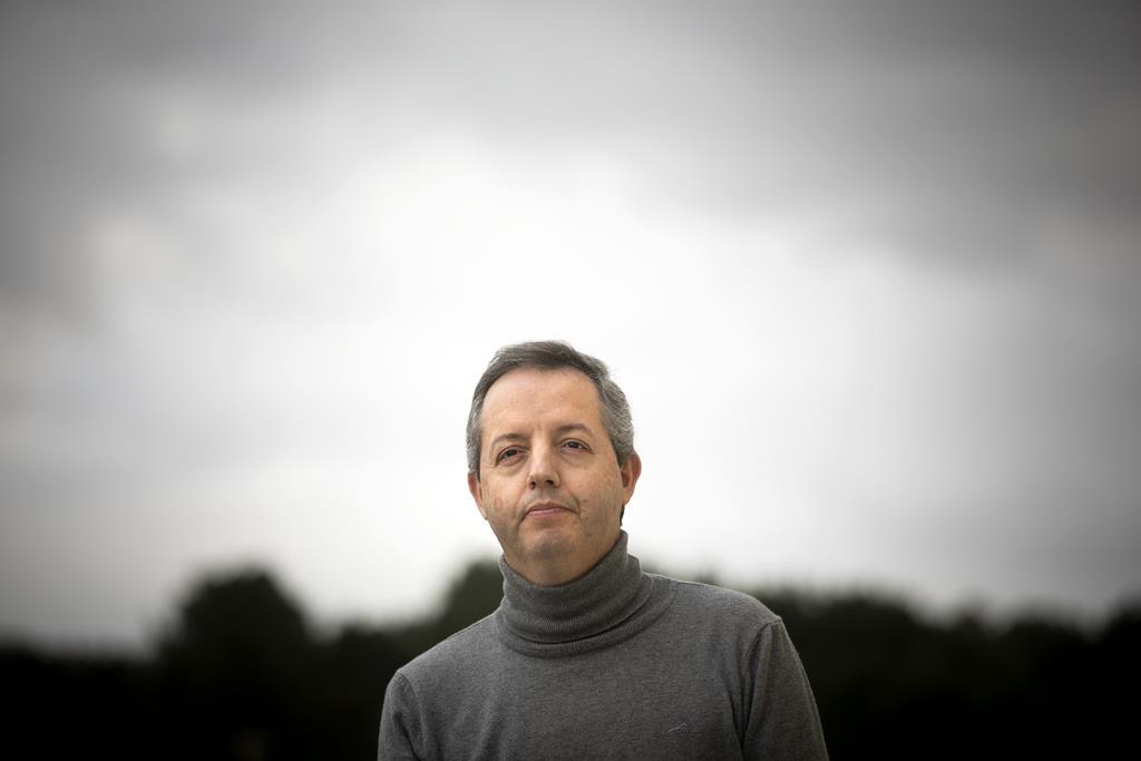 Rui Correia, professor de História nas Caldas da Rainha. Foto: Joana Bourgard/RR