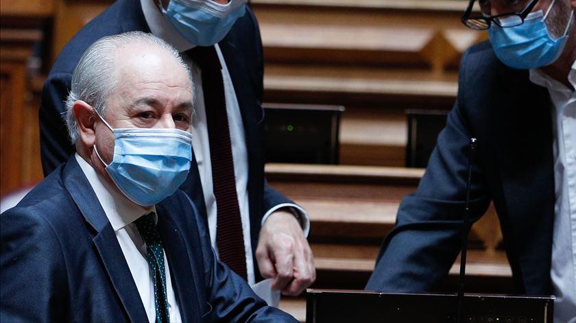 Rui Rio não aceita responsabilidades por potencial chumbo do OE 2021. Foto: António Cotrim/Lusa