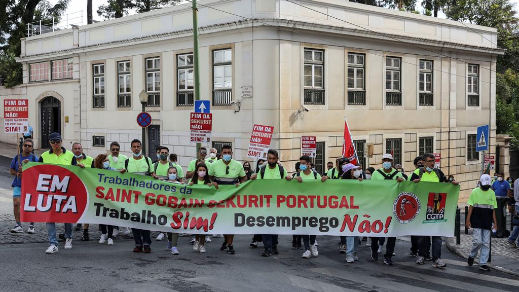 Delegação foi recebida em São Bento, mas não pelo primeiro-ministro ou qualquer assessor. Foto: Miguel A. Lopes/Lusa