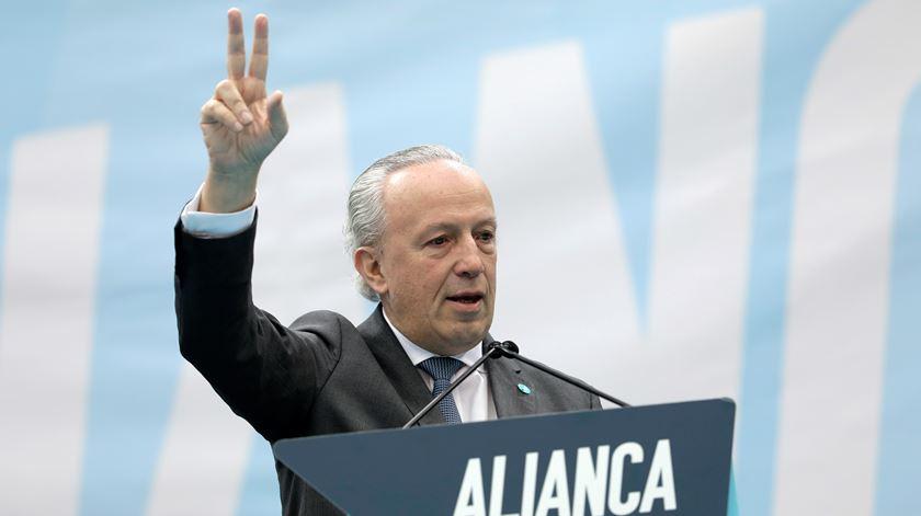 Santana Lopes quer mais união à direita. Foto: António Cotrim/Lusa